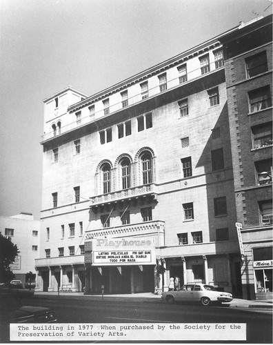 Variety Arts Center Building, 1977