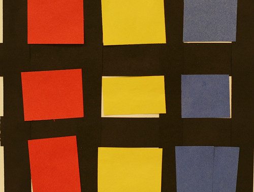 Lauren's primary colored rectangles and squares