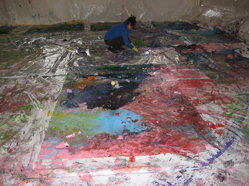 Shozo Shimamoto in Genoa: the day after