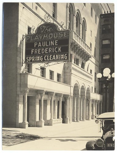 The Figueroa Playhouse, c. 1925