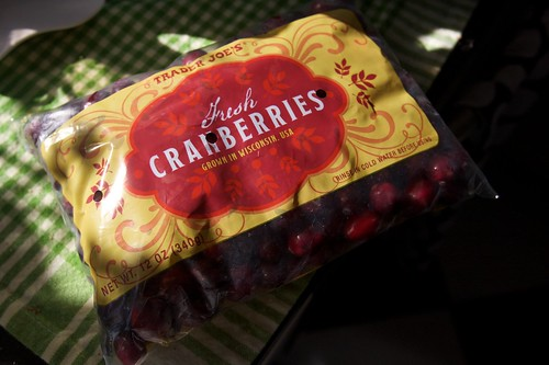i bought cranberries!