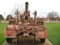 FlaK 18 88mm (grobianischus) Tags: museum army us gun maryland aberdeen german artillery flak antiaircraft ordnance 88mm 3637
