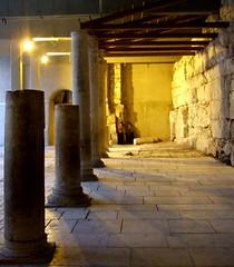 Roman Market Ruins, Old City, Jerusalem