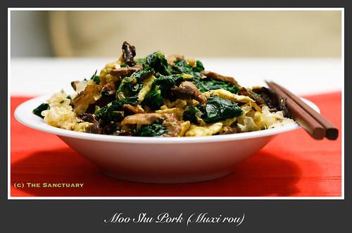 Health Muxi Pork