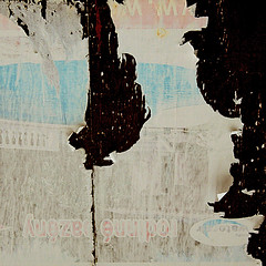 Bat (daliborlev) Tags: wood abstract texture paper square urbandecay bat brno cave mundanedetail hardboard 500x500 tornbillboard