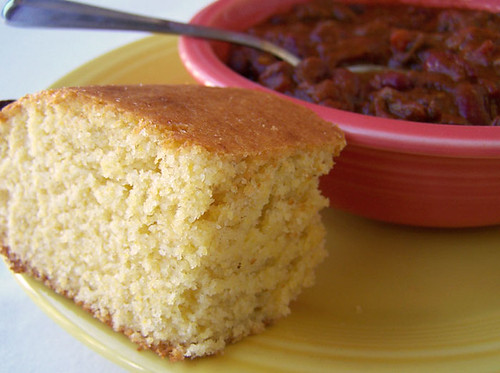 Easy Chili and Honey Cornbread