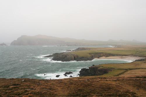 Blasket Islands off the western coast