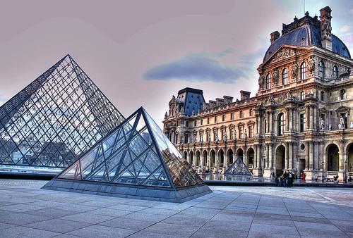 Лувр парижа фоторепортаж