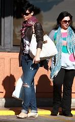 rihanna doing some shopping