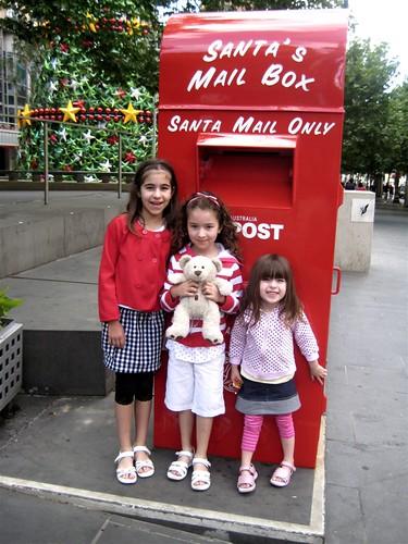 Sending the Santa letters