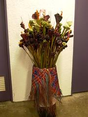 Harakeke (Budwds) Tags: traditionalart cloak maori
