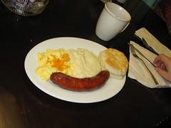 Jenn's breakfast smiles!