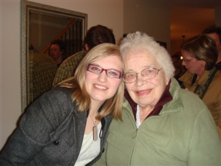 grandma and me by you.