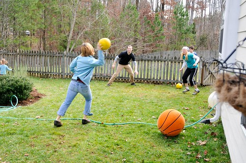 Christmas dodgeball