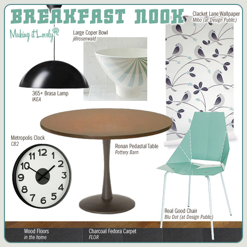 Making it Yours: Breakfast Nook