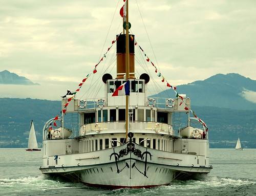 Le Montreux sur le lac Léman