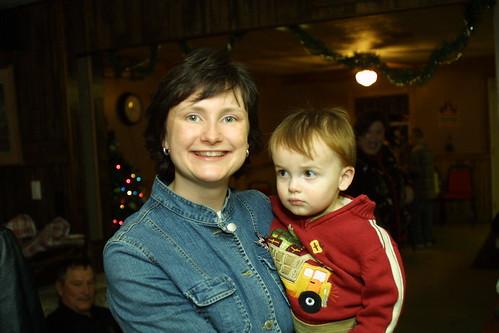 JT & Mama, Christmas 2008