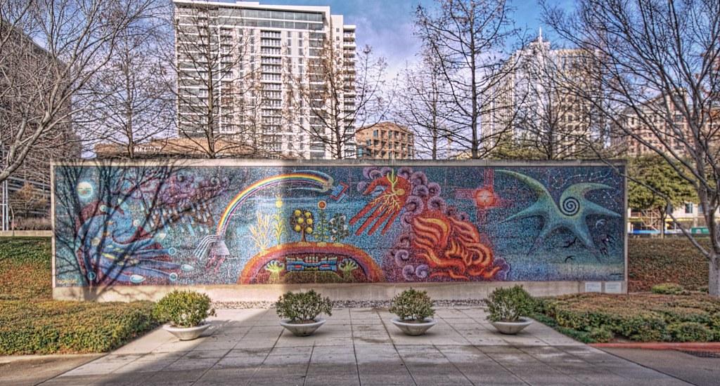 Dallas Museum of Art - Mosaic Wall