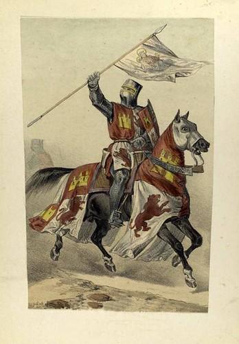 005-Pendonista real o alferez año 1300
