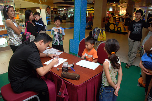 Caricature live sketching for Marina Square Day 2 - 2a