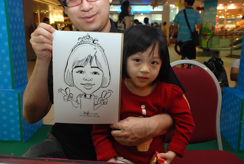 Caricature live sketching for Marina Square Day 2 - 10