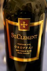1998 St. Clement Oroppas Napa Valley Cabernet Sauvignon