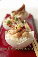 Asian Amuse Bouche [Steamed Rice Trio]