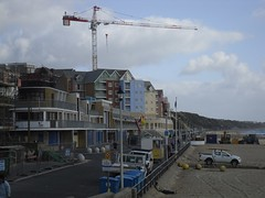 Boscombe Construction (crwilliams) Tags: beach dorset boscombe date:month=march date:day=14 date:year=2009 date:wday=saturday date:hour=11