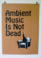 Ambient Music is Not Dead (Ronchhon) Tags: art illustration srigraphie serigraphy ambientmusic ronchhon