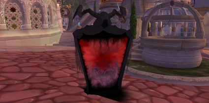 Creepy flasher with horns or Azerothian TV set?