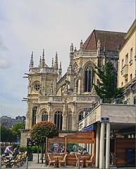 SNB19701- Église Saint-Pierre de Caen Normandie France (Rolye) Tags: church yahoo google samsung com église caen ops saintpierre kartpostal nv7 flickraward rolye