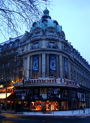 Gaumont Opera (KChevardova) Tags: winter paris france building gaumontopera