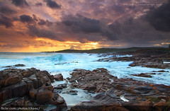 Boat Harbour Sunset, Port Stephens (Christopher Chan) Tags: sunset storm clouds canon australia nsw 7d newsouthwales 1022mm portstephens boatharbour