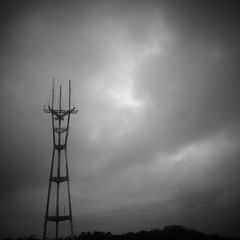 Radio tower … an iPhone 4 photo by Dominique James, visit http://bit.ly/5HY4wN for more. (Dominique James) Tags: city trees sky urban blackandwhite bw usa mountain newyork news tower art metal clouds radio photography design lab artist photographer tech manhattan unitedstatesofamerica picture shapes engineering style structure talent filipino att communications pictureshow diptic dominiquejames iphone4 camtastic bestcamera pixelpipe adobephotoshopexpress prohdr lomob vintbw iphoneography hipstamatic perfectlyclr instagram infinicam