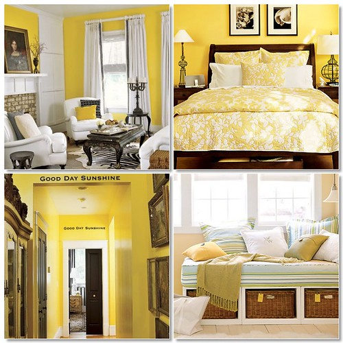 go bold with yellow