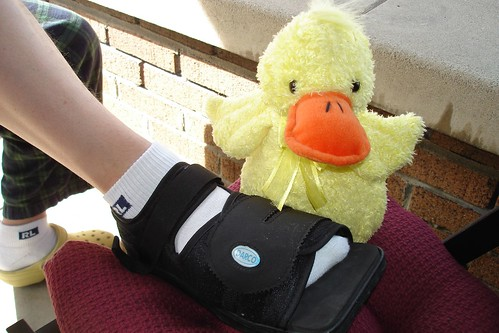 Duck Duck Goose Broken Foot