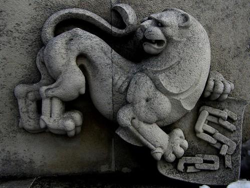 Lion at Shipka Memorial
