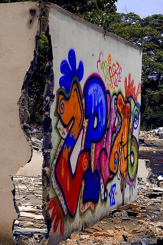Bangkok Graffiti Wall