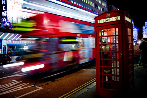 London bus by E01, on Flickr