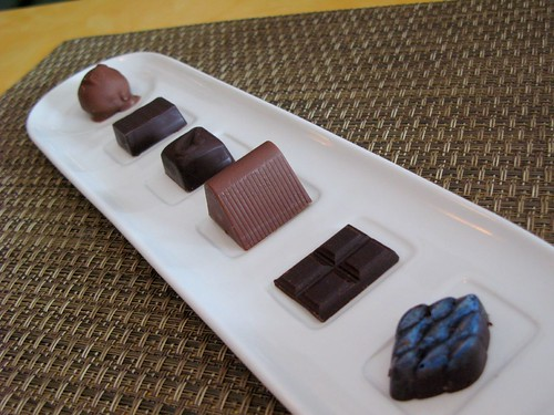 chocolates at Farmhouse Cafe