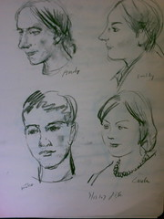JI Ye sketch (2 to 3 minuts) (jason110) Tags: ji drawings ye