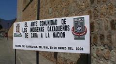 El Arte Con unidad de Los Indigenas Oaxaqueños