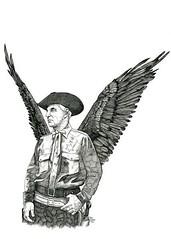 Winged cowboy