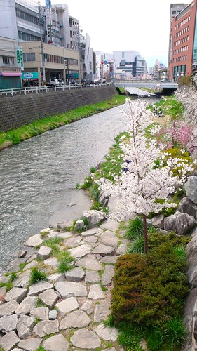 river in Matsumoto-city