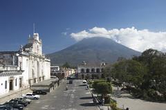 Volcano near Antigua Guatemala