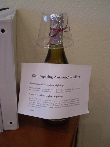 Ghost Sighting Antidote / Repellant