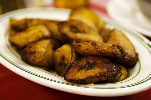 fried yellow plantains?