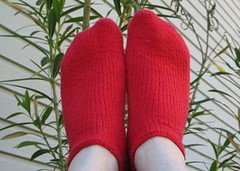 Red socks in the sky