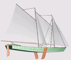 Folding Schooner