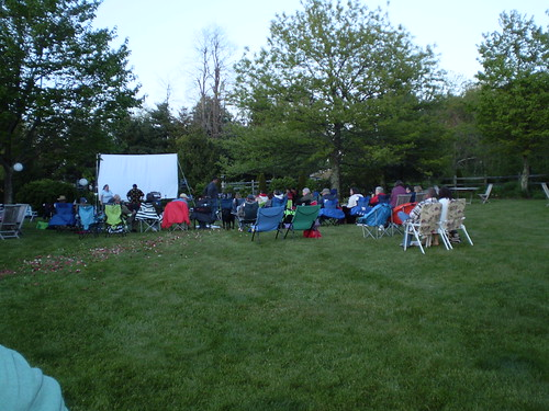 Movie Night at Chateau Morrisette